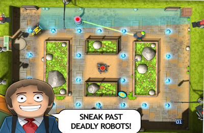 Screenshots of the Man in a Maze game for iPhone, iPad or iPod.