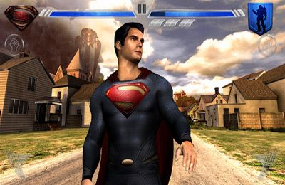 Screenshots vom Spiel Man of Steel für iPhone, iPad oder iPod.