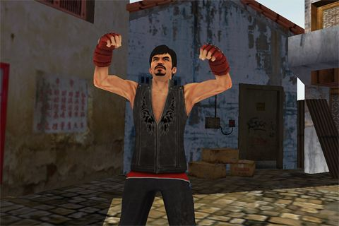 Screenshots vom Spiel Manny Pacquiao: Pound for pound für iPhone, iPad oder iPod.