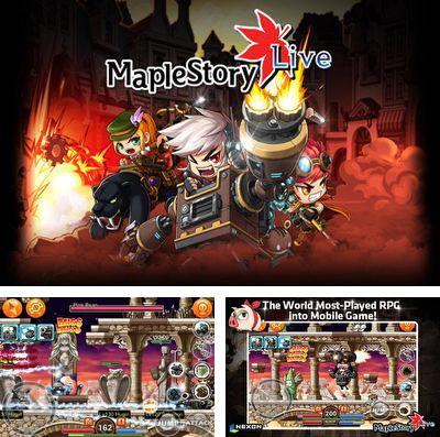 In addition to the game Blood Ninja:Last Hero for iPhone, iPad or iPod, you can also download Maple Story live deluxe for free.