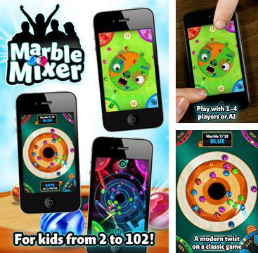 In addition to the game Blade of Darkness for iPhone, iPad or iPod, you can also download Marble Mixer for free.