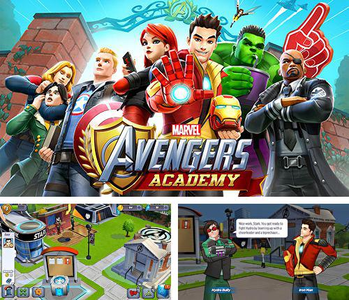 In addition to the game Pix'n love rush for iPhone, iPad or iPod, you can also download MARVEL: Avengers academy for free.