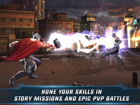 Download Marvel: Avengers alliance 2 iPhone free game.
