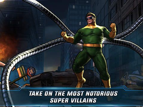 Screenshots of the Marvel: Avengers alliance 2 game for iPhone, iPad or iPod.