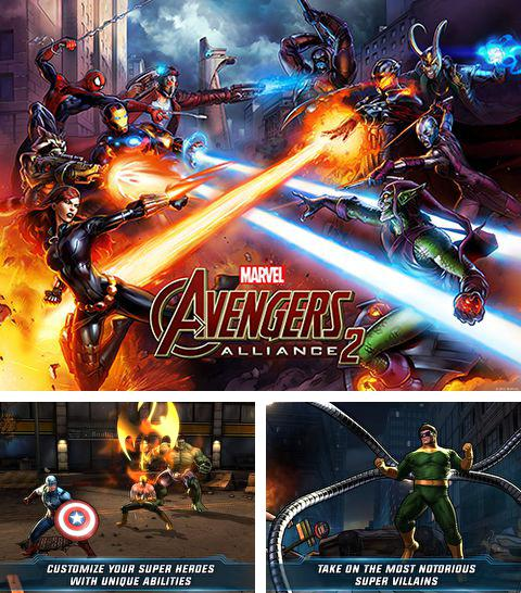 In addition to the game R.I.P. Rally for iPhone, iPad or iPod, you can also download Marvel: Avengers alliance 2 for free.
