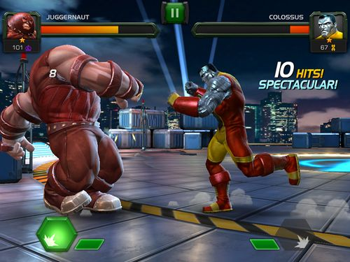 iPhone、iPad および iPod 用のMarvel: Contest of championsの無料ダウンロード。