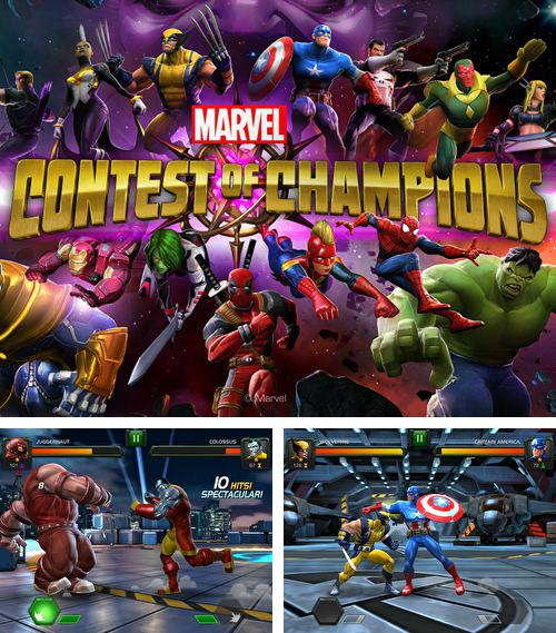 In addition to the game Sponge Bob: Sponge on the run for iPhone, iPad or iPod, you can also download Marvel: Contest of champions for free.