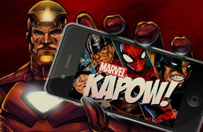 Download Marvel Kapow! iPhone free game.