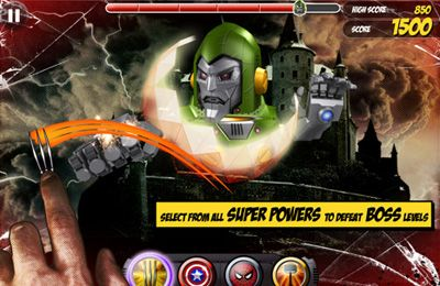 Free Marvel Kapow! download for iPhone, iPad and iPod.