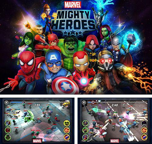 Download Marvel: Mighty heroes iPhone free game.