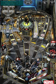 Descarga gratuita del juego Pinball con Marvel  para iPhone.