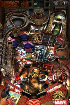 Capturas de pantalla del juego Marvel Pinball para iPhone, iPad o iPod.