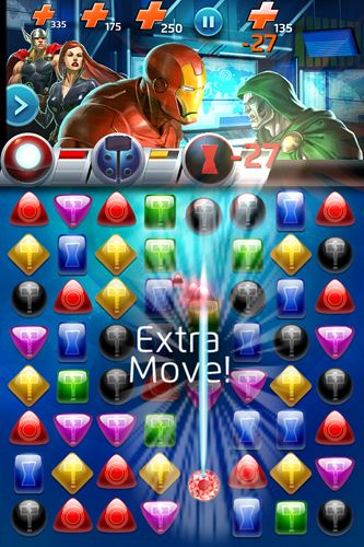 Скачать Marvel: Puzzle quest на iPhone бесплатно