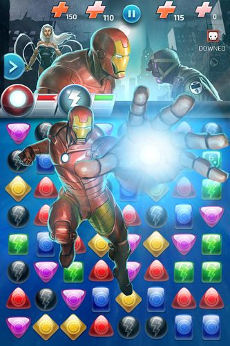 Écrans du jeu Marvel: Puzzle quest pour iPhone, iPad ou iPod.
