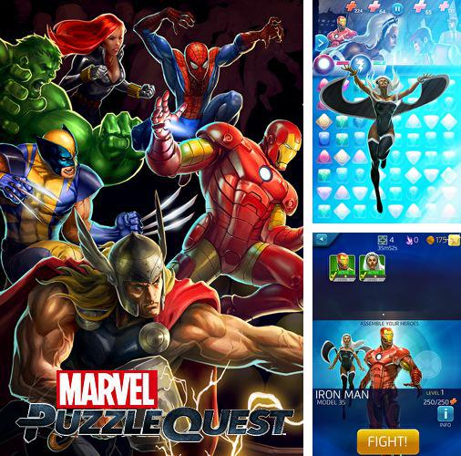 In addition to the game Freestyle Soccer for iPhone, iPad or iPod, you can also download Marvel: Puzzle quest for free.