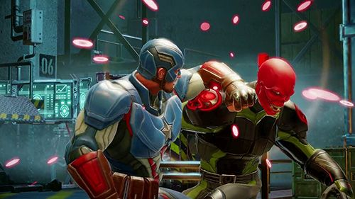 Игра Marvel strike force для iPhone