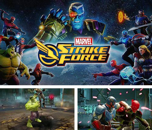 In addition to the game Scuba diver adventures: Beyond the depths for iPhone, iPad or iPod, you can also download Marvel strike force for free.