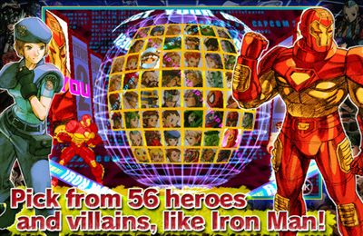下载免费 iPhone、iPad 和 iPod 版MARVEL vs. CAPCOM 2。