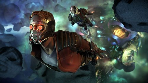 Kostenloser Download von Marvel's guardians of the galaxy für iPhone, iPad und iPod.