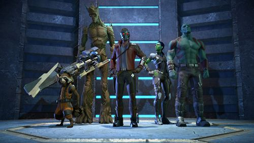 Screenshots vom Spiel Marvel's guardians of the galaxy für iPhone, iPad oder iPod.