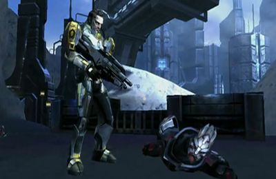 Download MASS EFFECT Infiltrator iPhone free game.