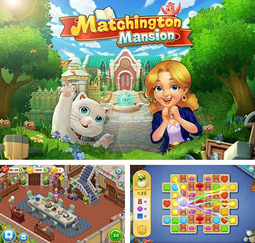 除了 iPhone、iPad 或 iPod 游戏,您还可以免费下载Matchington mansion, 。