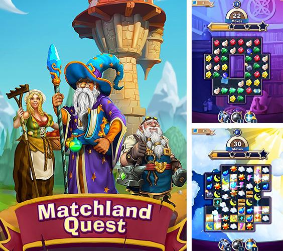 In addition to the game Kings Empire(Deluxe) for iPhone, iPad or iPod, you can also download Matchland quest for free.