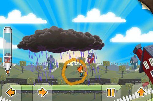 Capturas de pantalla del juego Max and the magic marker para iPhone, iPad o iPod.