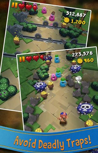 Screenshots of the Max Axe game for iPhone, iPad or iPod.