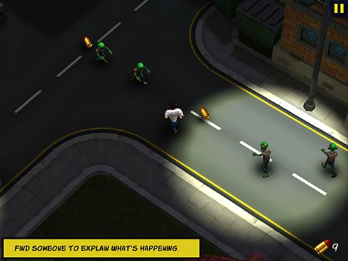 Screenshots vom Spiel Max Bradshaw and the zombie invasion für iPhone, iPad oder iPod.
