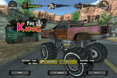 Download Maximum overdrive iPhone free game.