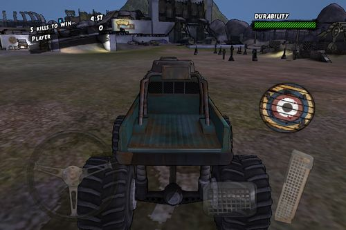 Screenshots vom Spiel Maximum overdrive für iPhone, iPad oder iPod.