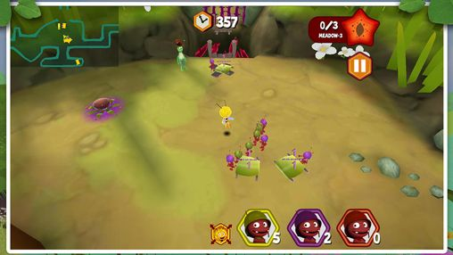Download Maya the Bee: The ant's quest iPhone free game.
