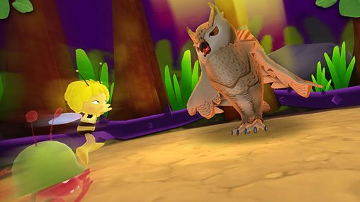 Screenshots do jogo Maya the Bee: The ant's quest para iPhone, iPad ou iPod.