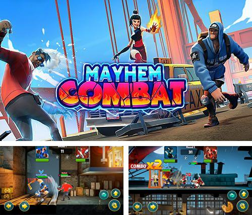 In addition to the game Diamond dash for iPhone, iPad or iPod, you can also download Mayhem combat for free.