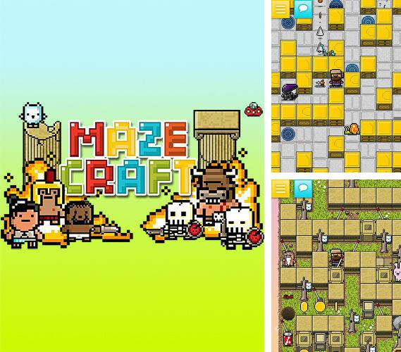 In addition to the game HeliInvasion 2 for iPhone, iPad or iPod, you can also download Mazecraft for free.