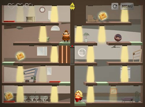 Screenshots of the McLeft LeRight game for iPhone, iPad or iPod.