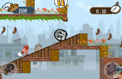 Screenshots do jogo Meatball Marathon Premium para iPhone, iPad ou iPod.