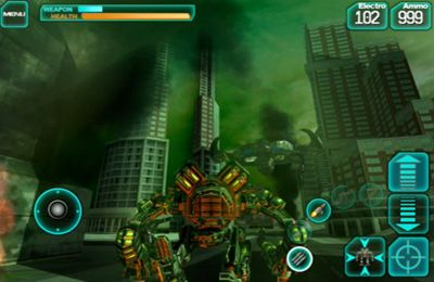 Download Mech Pilot iPhone free game.