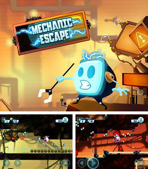 In addition to the game Code of war: Shooter online for iPhone, iPad or iPod, you can also download Mechanic escape for free.
