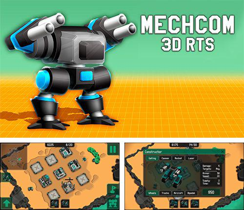 In addition to the game Stickman volleyball for iPhone, iPad or iPod, you can also download Mechcom 2 for free.