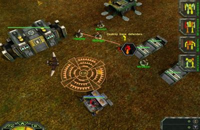 Download MechWarrior Tactical Command iPhone free game.