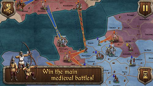 Téléchargement gratuit de Medieval wars: Strategy and tactics pour iPhone, iPad et iPod.