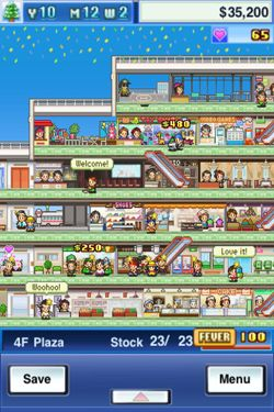Capturas de pantalla del juego Mega Mall Story para iPhone, iPad o iPod.