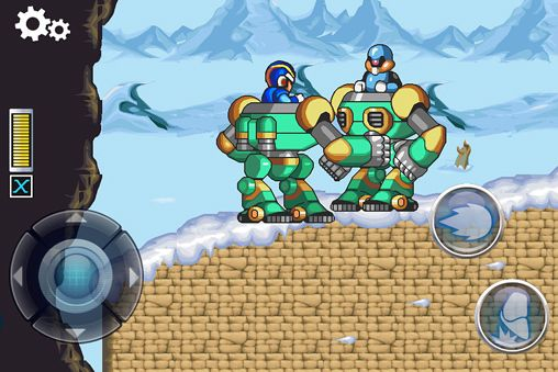 Download MegaMan X iPhone free game.