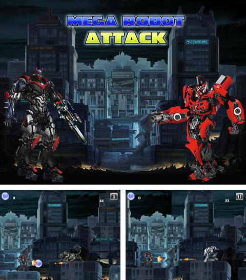 In addition to the game Football manager handheld 2015 for iPhone, iPad or iPod, you can also download Mega Robot Attack for free.