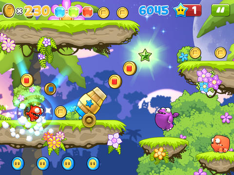 Screenshots do jogo Mega Run Plus – Redford's Adventure para iPhone, iPad ou iPod.