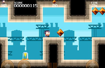 Screenshots of the Meganoid game for iPhone, iPad or iPod.