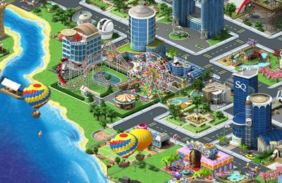 Screenshots of the Megapolis game for iPhone, iPad or iPod.