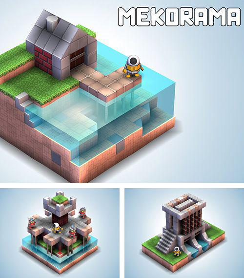 In addition to the game The treasures of Montezuma 4 for iPhone, iPad or iPod, you can also download Mekorama for free.